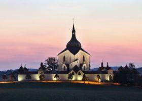 Poutní kostel sv. Jana Nepockého na Zelené Hoře