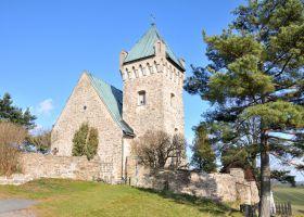 Poutní kostel sv. Michaela Archanděla - Vítochov
